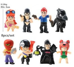 $enCountryForm.capitalKeyWord Australia - Free shipping 6.5CM  8 Styles lot Brawl Stars Action Figures Collection Toys New Mobile Game Action Figures Doll Kids Gift Car Decoration