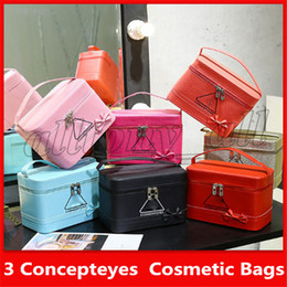 3ce cosmetics Canada - 2019 3CE Famous Brand Cosmetic Bags 3 Concepteyes Multi Colors Big Capacity easy to carry with a handle
