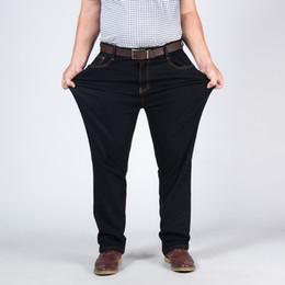 $enCountryForm.capitalKeyWord Australia - 2019 Men Jeans Business Casual Straight Slim Fit Black Jeans Stretch Denim Pants Trousers Classic Big Size 42 44 46 48