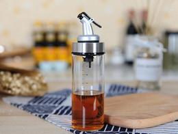 Kitchen oil dispenser online shopping - New Dining Cooking Bottle Dispenser Sauce Bottle Glass Storage Bottles for Oil and Vinegar Creative Kitchen Tools Accessories