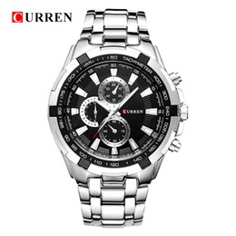 $enCountryForm.capitalKeyWord NZ - Hot2016 Curren Quartz Topbrand Analog Military Male Watches Men Sports Army Watch Waterproof Relogio Masculino8023 J190702