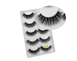 $enCountryForm.capitalKeyWord Australia - 3D Mink Eyelash 5 pairs False Eyelashes Handmade Nature Long Fake Eye Lashes Extension Eyelash Hair 5 Pairs Box