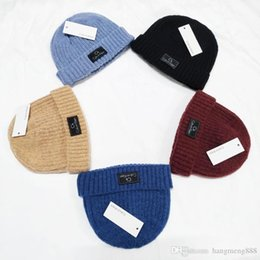 cashmere skull cap men Australia - Hight quality man women autumn winter beanie cap casual knitted sports cap ski gorro ugea Warm Designers Wool Knit Hat skull caps