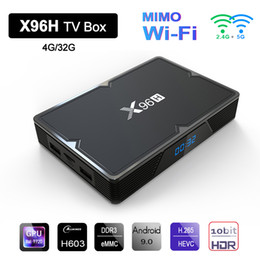 $enCountryForm.capitalKeyWord NZ - X96H Smart TV Box Android 9.0 H603 Quad Core 2.4G 5G Dual Wifi Mimo HDR 6K Google Player Youtube Media Player Set Top Box 4GB 32GB Bluetooth