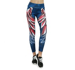 $enCountryForm.capitalKeyWord UK - Harajuku 3D wing leggings for women push up sporting fitness legging athleisure bodybuilding sexy women's pants