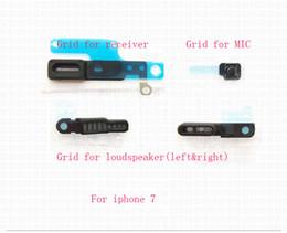 Iphone Anti Dust Mesh For Speaker Australia - For iPhone 5 6 6S 7 8 Plus X MIC receiver speaker transmitter Earpiece Anti Dust dust-proof grid Screen Mesh net Replacement reapirt parts 5