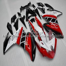 $enCountryForm.capitalKeyWord Australia - 23colors+Screws red white motorcycle cowl For yamaha FZ6 FZ6R 2009 2010 ABS Plastic Fairing hull