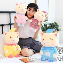 $enCountryForm.capitalKeyWord UK - 20170621 2019 New Style Cartoon Clown Pig Stuffed Animals Pillow Super Cute Plush Toys Kids Birthday Gift Free Shipping