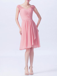 China 2019 spring style Lace top, Ruffle English Rose different color sleeveless V-neck bridesmaid dress-flyingdress supplier long bridesmaid dresses different styles suppliers