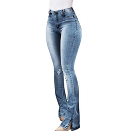 c7ab865a0f03 Women Jeans High Waist Skinny Denim Pants Female Bodycon Push Up Hips  Stretch Zippers Ladies Trousers Spring Autumn 2019 femme