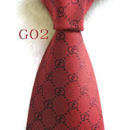 $enCountryForm.capitalKeyWord Australia - Mens Classic Silk Polyester Designer Ties for Men Brand Neckwear Business Skinny Grooms Necktie for Wedding Party Suit Shirt