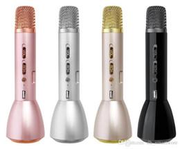 $enCountryForm.capitalKeyWord Australia - K088 Universal Portable Bluetooth Wireless Microphone Speaker Karaoke Handheld Microphone Power Bank for iPhone Android Phone