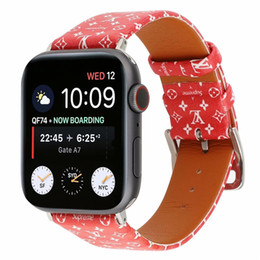 $enCountryForm.capitalKeyWord Australia - For Apple Watch Wristband Smart Straps 38mm 42mm Size Watchbands Leather Sports Watch Belt Replacements Watch Band for iWatch Women Men
