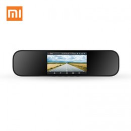 Car Hdd UK - Xiaomi Mijia Rear View Mirror Car Camera Smart Camera 1080P HD 5 Inch IPS Screen IMX323 Image Sensor Driving Recorder For Car