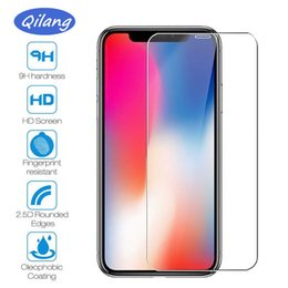$enCountryForm.capitalKeyWord Australia - For iPhone XR XS MAX Tempered Glass Screen Protector For Galaxy J3 J7 A9 A8 A80 2019 Iphone X 8 7 plus 6s Edition Film 2.5D 9H Anti-shatter