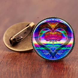 $enCountryForm.capitalKeyWord Australia - 2019Hot Jewelry Time Gemstone Tree of Life Peace Brooch Trend Original Jewelry Wild Clothes Accessorie