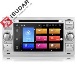 Ford Focus Player UK - Isudar Car Multimedia Player GPS Android 8.0 2 Din Stereo System Radio For Ford Focus Mondeo Kuga Octa Core Wifi Microphone DVR