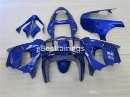 $enCountryForm.capitalKeyWord Australia - Hot sale moto parts Fairing kit for Kawasaki Ninja ZX9R 2000 2001 blue bodywork fairings set ZX9R 00 01 JK14 +7Gifts