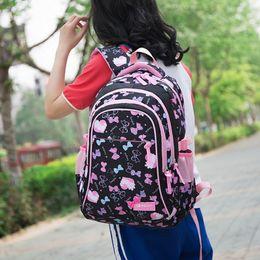 backpacks princesses 2019 - Adisputent Kids Printing Backpacks Set Waterproof Children School Bags Kids mochila infantil Schoolbag Princess School B