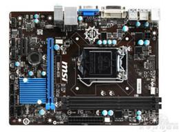 Vente en gros Carte mère de bureau d'origine pour carte mère MSI B85M-IE35 DDR3 LGA 1150 16GB USB2.0 USB3.0 B85 livraison gratuite