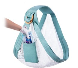 Carry Sling Strap Australia - 2019 new baby sling with newborn straps front hug baby sling four seasons multi-functional newborn child's cross-holding strap