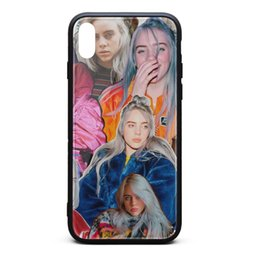 Proof Cases UK - IPhone Xs Max Case 6.5 inch Billie Eilish skid-proof screen protectors best TPU Rubber Gel Silicone phone cases