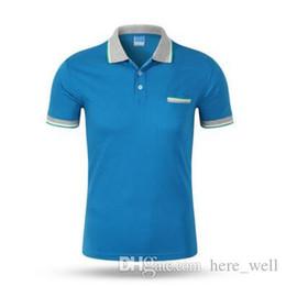 $enCountryForm.capitalKeyWord Australia - New Polo Shirt Men Short sleeve Cotton Casual Breathable Shirt Mens Turn-down collar Polos shirts homme Men Brand clothing
