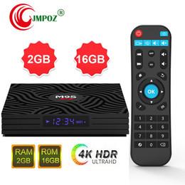 $enCountryForm.capitalKeyWord Australia - 14pcs Original M9S W6 1GB 8GB 2GB 16GB Android 7.1 TV Box Amlogic S905W support 2.4G wifi 4K H.265 IPTV HDMI Streaming Media Player
