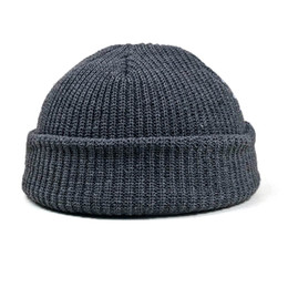 6f073fb9fe469 Beanies For Mens Australia - Unisex Solid Color Knitted Beanie Winter Warm  Hats For Women Mens