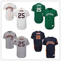 7f6bca9b9 Houston #25 Jose Cruz Jr Jersrys Astros men#WOMEN#YOUTH#Men's Baseball Jersey  Majestic Stitched Professional sportswear