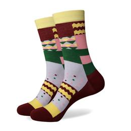 $enCountryForm.capitalKeyWord Australia - Colorful Match-Up Wholesale price Men's Colorful Cotton socks men socks without LOGO free shipping us size(7.5-12)