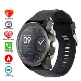 Smart Watch Brown Australia - Sports Men Smart Watch Fitness Tracker 5ATM Waterproof Blood Pressure Oxygen Heart Rate monitor Smart Watch Dual Time Zone
