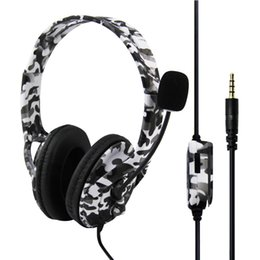 Gaming Pc Ps4 Australia - 2019 Newest and Hot-selling gaming headset for PS4   XBOX ONE  PC Camouflage PS4 Headset Bass Gaming Headphone Game Earphone Casque with Mic
