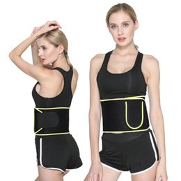 fitness waist shaper Canada - Professional Neoprene Body Shaper Sweat Utility Belt for Sport Gym Fitness Unisex Slimming Waist Trainer Trimme Slim Belt