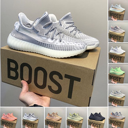$enCountryForm.capitalKeyWord Australia - 2019 Kanye West 350 v2 designer shoes black static reflective blue light color luxury mens casual shoes Beluga 2.0 womens sports shoes 99608