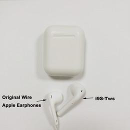 I9S TWS Sem Fio Bluetooth Fones De Ouvido Fones De Ouvido Fones De Ouvido com Caixa De Carregamento Gêmeos Mini Bluetooth Fones De Ouvido para iPhone X IOS Android com Varejo em Promoção