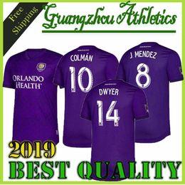 50c969a163d NEW 19 20 ORLANDO CITY KITS Home Soccer Jersey 2019 2020 KAKA Colman  Mueller J.Mendez ORLANDO CITY away Football Shirt