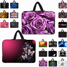 """$enCountryForm.capitalKeyWord Australia - Duo Zippers Handle Laptop Carry Bag Hot 10"""" 12"""" 13"""" 15"""" 14"""" 17"""" 15.6"""" Notebook Computer Sleeve Handle Cover Case Pouch Wholesale"""