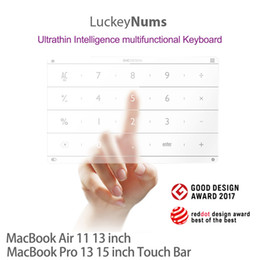 Macbook Logic Australia - Nums Track Pad Number Touch Pad Smart Digital Wireless Numeric Touch board For 13 Inch 15 Inch Macbook Pro Macbook Air freeshipping