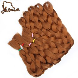Chinese  Synthetic Jumbo Braiding Hair Expression Braids Hair Style Blonde Crochet False Hair Colors Crochet Braids manufacturers