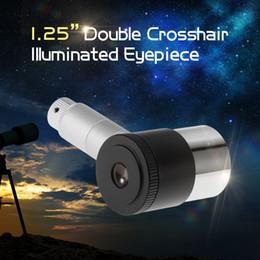 "$enCountryForm.capitalKeyWord Australia - 12.5mm Double-line Crosshair Reticle 1.25"" Illuminated Eyepiece 4-Elements Plossl Design 40-Degree FOV for Astronomy Telescope"