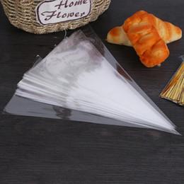 $enCountryForm.capitalKeyWord Australia - 50pcs Disposable Piping Bag Pastry Bag Lcing Piping Cake Cupcake Decorating Tools Bags Cake Tools Small Large Size Dropshipping