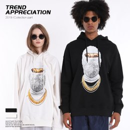 $enCountryForm.capitalKeyWord Australia - Mens Designer Hoodies Luxury Hiphop Wear Fashion Trendy Masked Mans Sweater Trendy Loose Mens Clothes 2019 New Pullover Top Quality