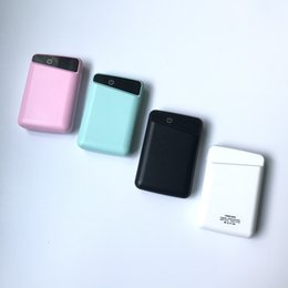 High Quality 10000Mah Polymer LED display mini Power Bank P100 on Sale