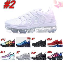 2019 Vapors Designers TN Plus Olive In Metallic White Silver Shoes Men Shoes For Male Shoe Maxes Pack Triple Black Shoes en venta