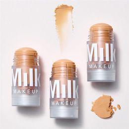 Wholesale New makeup Milk Makeup holographic highlighter Stick Stardust Supernova Mars Blur Stick Luminous Blur Stick ePacket Dropshipping