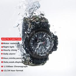 Survival ropeS online shopping - Men s Multi function Electronic Watch Survival Quartz Waterproof Watch Large Dial Umbrella Rope Bracelet Braided Digital Sport