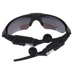Wireless Usb Music Headphones Canada - Sunglasses Bluetooth Headset Sunglass Stereo Wireless Sports Headphone Handsfree Earphones mp3 Music Player With Retail Package DHL