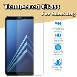 $enCountryForm.capitalKeyWord Australia - 9H Premium Transparent Tempered Glass Screen Protector Film Guard For Samsung Z1 Z2 Z3 Z4 ACE 4 3 A8S A9 Star Pro Lite Scratchproof