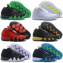 cheap designer shoes sale NZ - Kyrie Cheap 4 Basketball Shoe Hot Sale Mens Designer Colorful High Quality Team Outdoor Trainers Sports Shoe